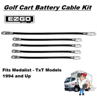 Golf Cart Battery Cables - Kit-Medalist-TXT 1994 and Up