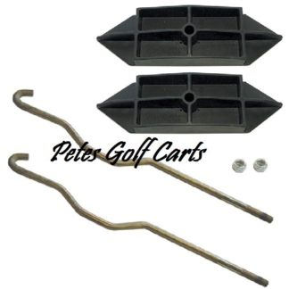 Club Car Precedent Battery Hold Down Kit 2004 to 2008 12v
