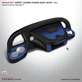 Golf Cart Dash Kit BLUE
