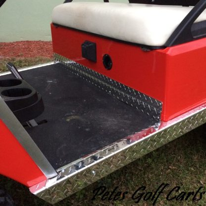 Golf Cart Diamond Plate Kick Plate Club Car DS Aluminum WM PGC