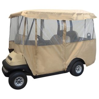 Golf Cart Enclosure Deluxe 4 Sided Fits Carts with 80 Inch Top