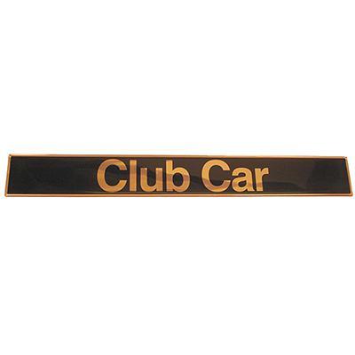 Golf Cart Name Plate