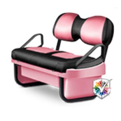 Golf Cart Seat Pod Kit Pink