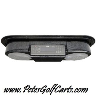 Golf Cart Speaker Pod with Radio Mount