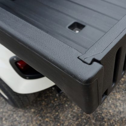 Golf Cart Truck Bed Poly Box Tailgate Track