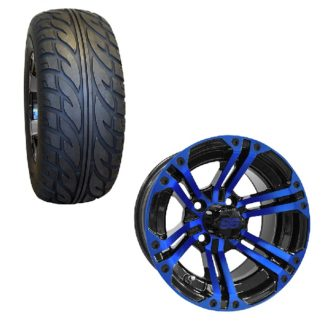 "12"" Golf Cart Wheel and Tire Combo 23x10x12"