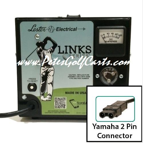 Yamaha Golf Cart Battery Charger 48 volt Lester 48V 13A